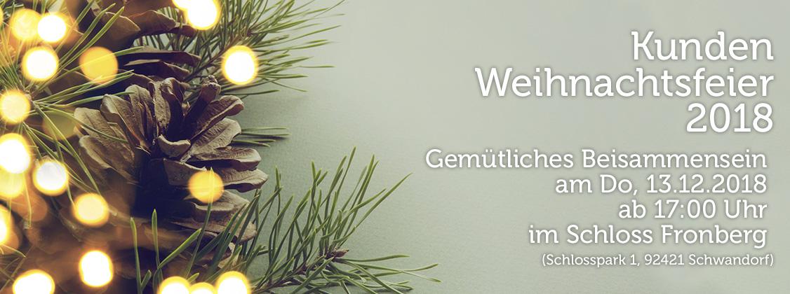 Kundenweihnachtsfeier 2018